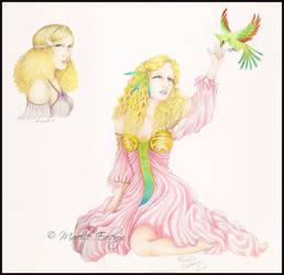 Aradia - Mucha Inspired by Mavelle-Ealenyr
