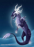 Heavenly Onyx Cloud Serpent by xEvali