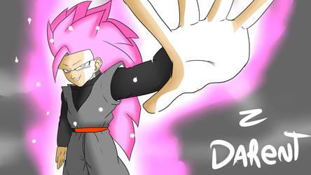 Goku Black (Super Saiyayin 3) by Ddarent