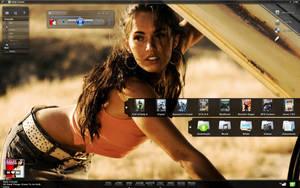Megan Fox Desk by sTTyleZ