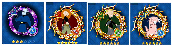Kim Possible Medals For Kh X by Disneyfanatic19