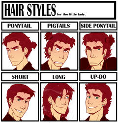 Meme: Hair Styles by chicajamonXD