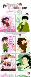 Doble meme  con Hito by chicajamonXD