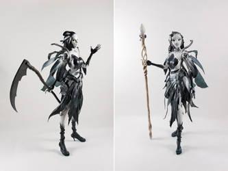 Kirei Wa the Sylvari Necromancer by liadys