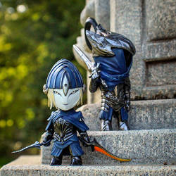 Mini Ciaran and Artorias by liadys