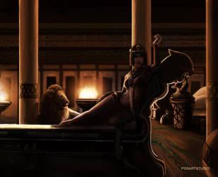 Princesa Egipcia Muito Sexy by pgsarts