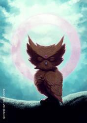 Owl Lama by pgsarts