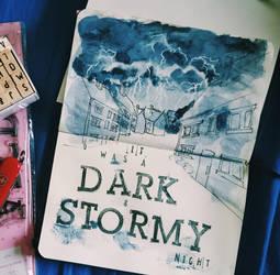 dark and stormy by AdharaPhoenix