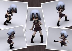 Noelle 3D Model by MightyLeafy