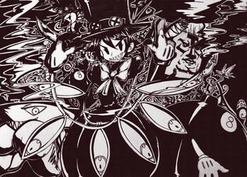 Skullgirls - Peacock by MightyLeafy