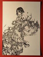 Yuna (Work in Progress) by MightyLeafy