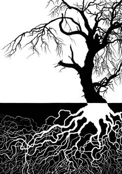 Beneath the Surface-Silhouette by Mustesielu