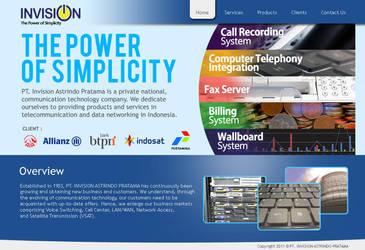 Invision - Company Profile by adraaay
