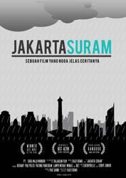 Jakarta Suram by adraaay