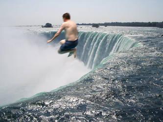 Niagara Falls Cannonball by mist3rbl4ck