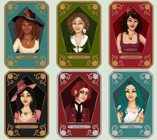 FAMOUS WIZARDS 1-6 by talsbee