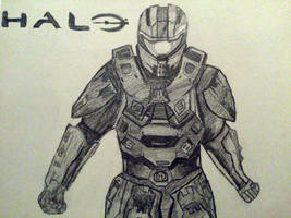 Halo in Black and White by Darkmicha91