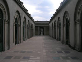 Cementery hall by ephedrina-stock
