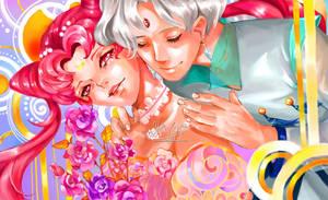 Chibiusa and Helios by yuri-chan23