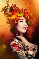 Autumn Headpiece by Kai-Ethan