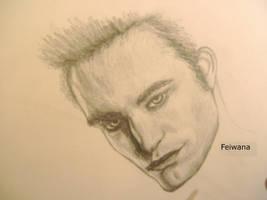 Robert Pattinson as Edward by Feiwana