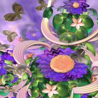Floral Melody by DeirdreReynolds