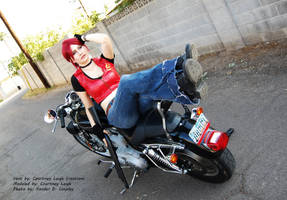 Claire Redfield Cosplay 4: Code Veronica by CLeigh-Cosplay