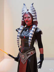 Darth Moros: Togruta by CLeigh-Cosplay