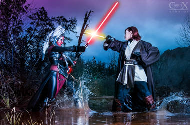 Facing Off by CLeigh-Cosplay