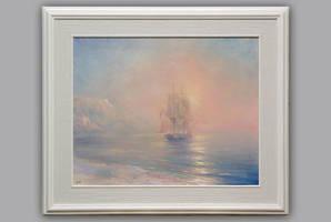 Misty dawn at sea. Copy. by YuriyChernenko