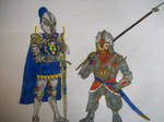 Stormwind and Ironforge Paladins by CannicusPalentine