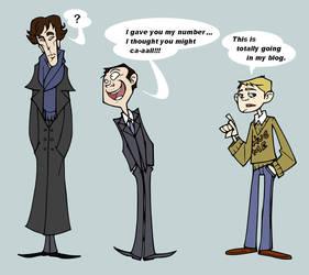 Sherlock and co. by eeza