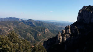 Top of Monserat by Lunat1k15