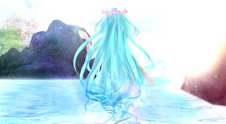 Water Muse by Omizuri