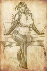 Commission: Curvy Lady by Yako