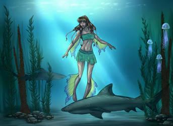 WIP: Under the Sea #2 by Yako