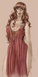 TDE: Red Nightgown by Yako