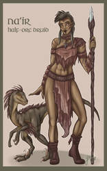 Pathfinder: Na'ir by Yako