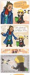 Happy halloween Link by emlan