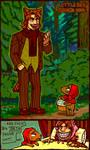 tegaki Red Riding Hood by emlan