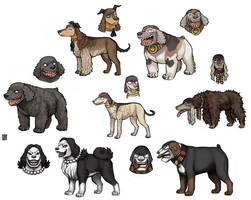 Blackbeard dog crew -UPDATE- by emlan