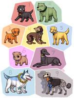 Strawhat dog crew by emlan