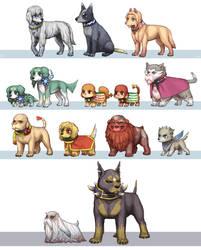 Final Fantasy IV DS by emlan