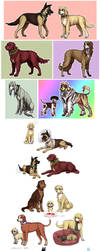 some TnB dogs by emlan