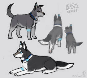 D:BH Dogs by emlan
