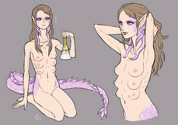 Crossbreed Nudes by emlan