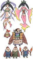 Okami doodles by emlan
