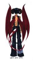 Fire Dragon Boy Back by Bunnyko
