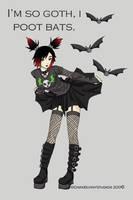 Poot Bats by Bunnyko