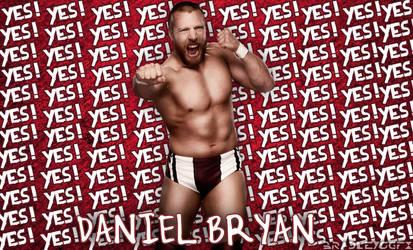 Daniel Bryan YES Chant Background!! by BradleysGFX